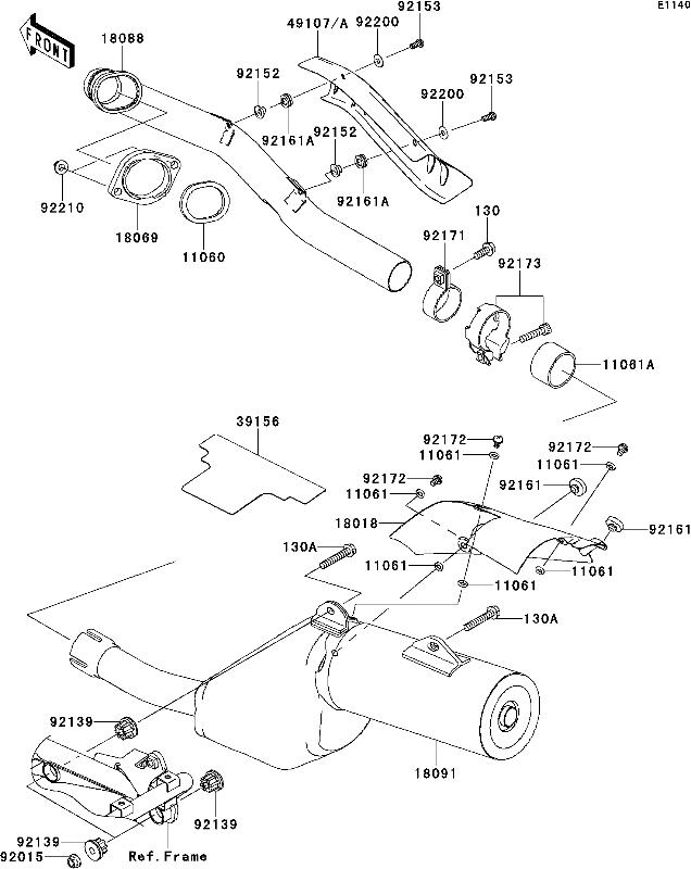 Kawasaki X2 Wiring Diagram